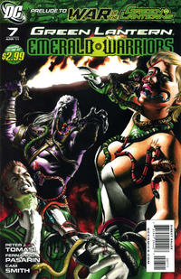 Cover Thumbnail for Green Lantern: Emerald Warriors (DC, 2010 series) #7