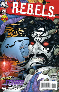 Cover Thumbnail for R.E.B.E.L.S. (DC, 2009 series) #25