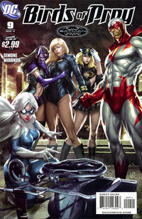 Cover Thumbnail for Birds of Prey (DC, 2010 series) #9
