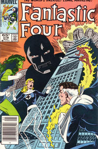 Cover for Fantastic Four (Marvel, 1961 series) #278 [Direct Edition]