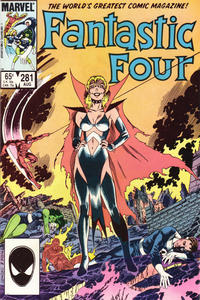 Cover Thumbnail for Fantastic Four (Marvel, 1961 series) #281 [Direct]