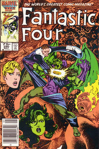 Cover Thumbnail for Fantastic Four (Marvel, 1961 series) #290 [Newsstand Edition]