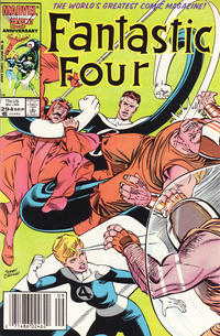 Cover Thumbnail for Fantastic Four (Marvel, 1961 series) #294 [Newsstand Edition]