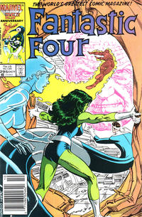 Cover Thumbnail for Fantastic Four (Marvel, 1961 series) #295 [Newsstand Edition]