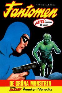 Cover Thumbnail for Fantomen (Semic, 1963 series) #12/1968