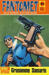Cover Thumbnail for Fantomet (Romanforlaget, 1966 series) #16/1970