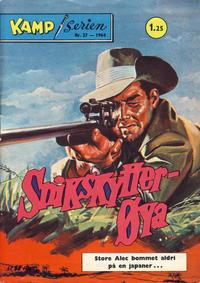 Cover Thumbnail for Kamp-serien (Serieforlaget / Se-Bladene / Stabenfeldt, 1964 series) #27/1964