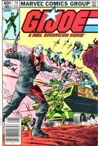 Cover Thumbnail for G.I. Joe, A Real American Hero (Marvel, 1982 series) #14 [Newsstand Edition]