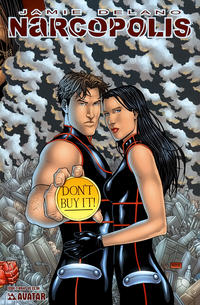Cover for James Delano's Narcopolis (Avatar Press, 2008 series) #2