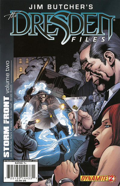 Cover for Jim Butcher's the Dresden Files: Storm Front (Dynamite Entertainment, 2010 series) #2