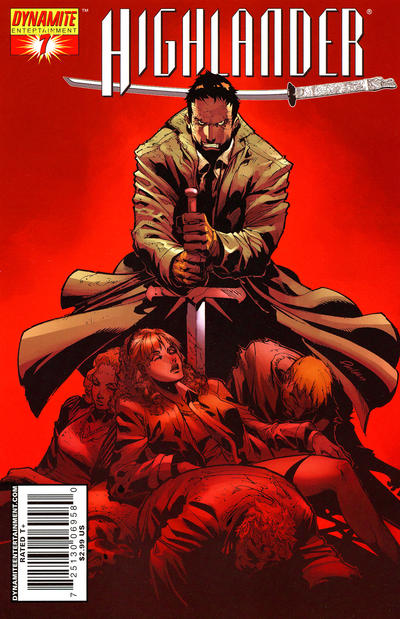 Cover for Highlander (Dynamite Entertainment, 2006 series) #7 [Michael Avon Oeming Cover]