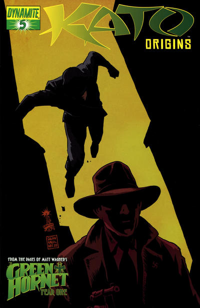 Cover for Kato Origins (Dynamite Entertainment, 2010 series) #5 [Colton Worley Cover]