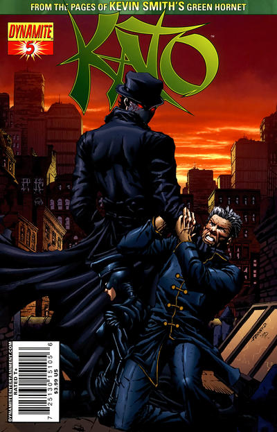 Cover for Kato (Dynamite Entertainment, 2010 series) #5 [Johnny Desjardins Cover]