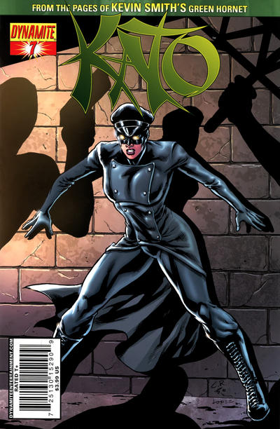 Cover for Kato (Dynamite Entertainment, 2010 series) #7 [Ale Garza Sketch Cover]