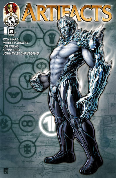 Cover for Artifacts (Image, 2010 series) #5 [Cover F]