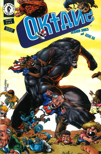 Cover for Oktane (Dark Horse, 1995 series) #2
