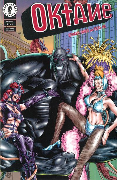 Cover for Oktane (Dark Horse, 1995 series) #3