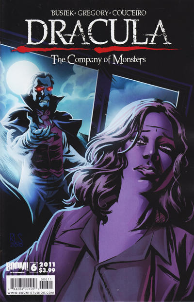 Cover for Dracula: The Company of Monsters (Boom! Studios, 2010 series) #6