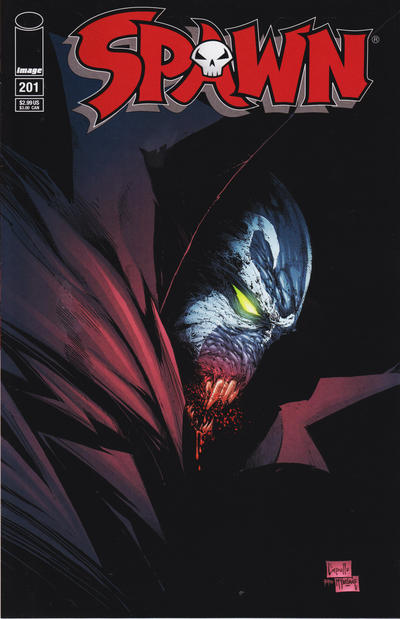 Cover for Spawn (Image, 1992 series) #201