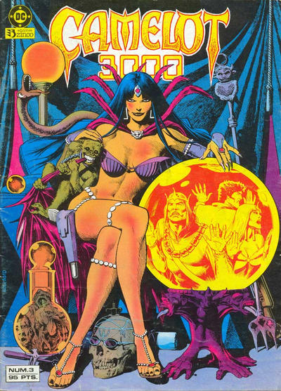 Cover for Camelot 3000 (Zinco, 1984 series) #3