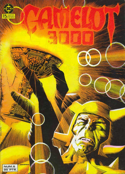 Cover for Camelot 3000 (Zinco, 1984 series) #6