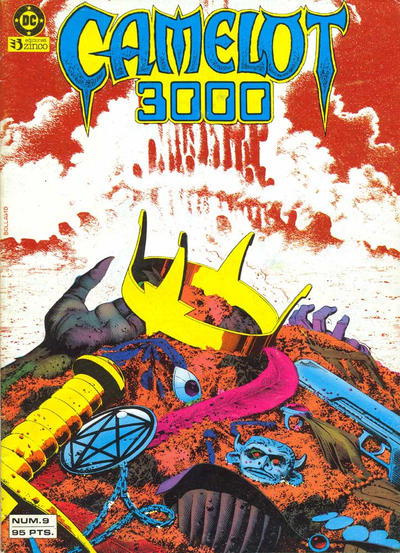 Cover for Camelot 3000 (Zinco, 1984 series) #9