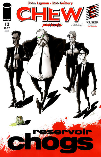 Cover for Chew (Image, 2009 series) #13 [Pullet Fiction]