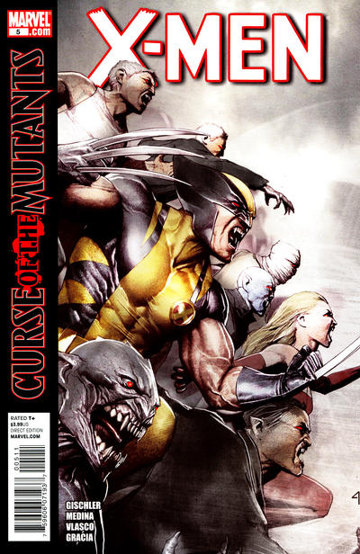 Cover for X-Men (Marvel, 2010 series) #5 [Variant Edition]