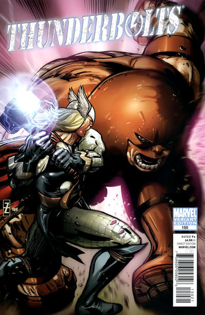 Cover for Thunderbolts (Marvel, 2006 series) #150
