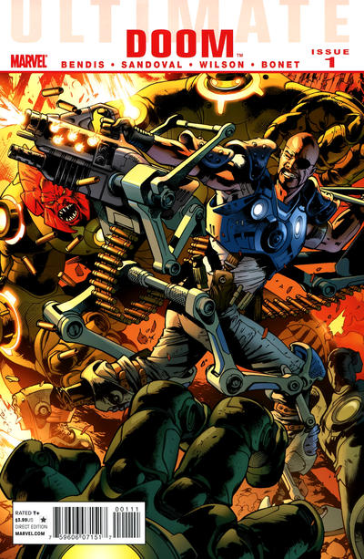Cover for Ultimate Doom (Marvel, 2011 series) #1 [Variant Edition]