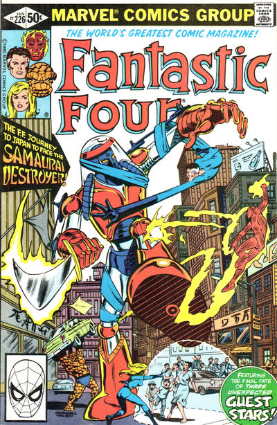 Cover for Fantastic Four (Marvel, 1961 series) #226 [Direct Edition]