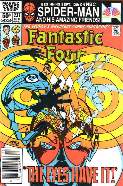 Cover for Fantastic Four (Marvel, 1961 series) #237 [Direct Edition]