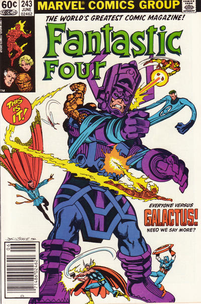 Cover for Fantastic Four (Marvel, 1961 series) #243 [Direct]