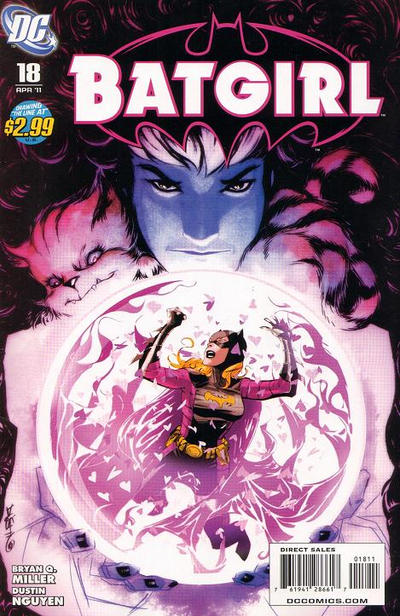Cover for Batgirl (DC, 2009 series) #18 [Direct Sales]
