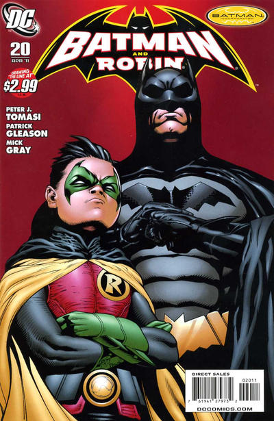 Cover for Batman and Robin (DC, 2009 series) #20