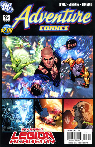 Cover for Adventure Comics (DC, 2009 series) #523