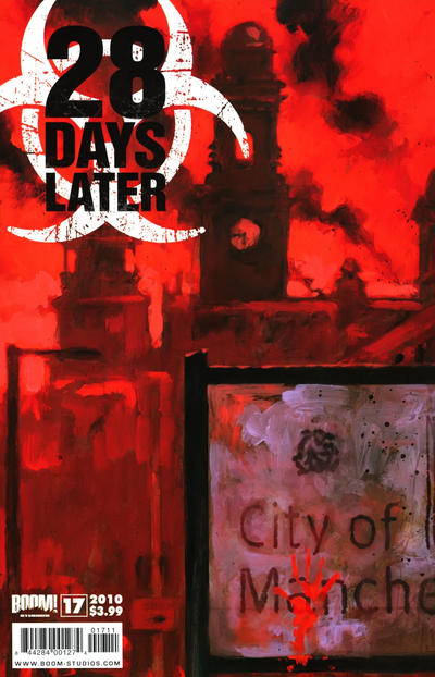 Cover for 28 Days Later (Boom! Studios, 2009 series) #17