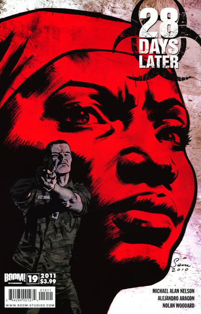 Cover for 28 Days Later (Boom! Studios, 2009 series) #19