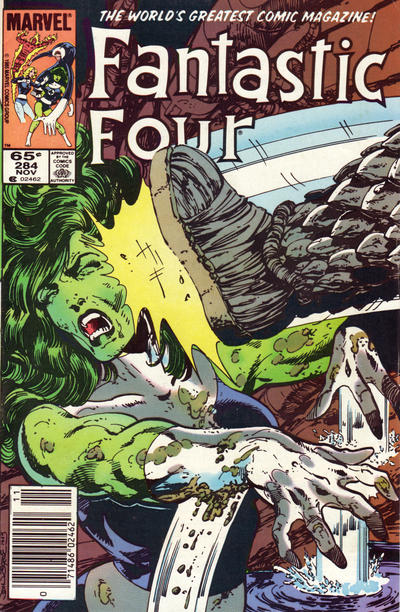 Cover for Fantastic Four (Marvel, 1961 series) #284 [Canadian Newsstand Edition]