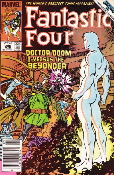 Cover for Fantastic Four (Marvel, 1961 series) #288 [Newsstand Edition]