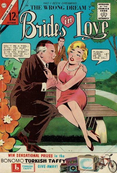 Cover for Brides in Love (Charlton, 1956 series) #38