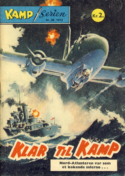 Cover for Kamp-serien (Serieforlaget / Se-Bladene / Stabenfeldt, 1964 series) #39/1973