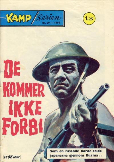 Cover for Kamp-serien (Serieforlaget / Se-Bladene / Stabenfeldt, 1964 series) #29/1964