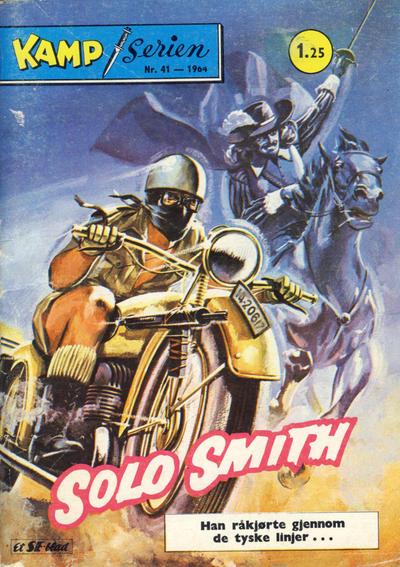 Cover for Kamp-serien (Serieforlaget / Se-Bladene / Stabenfeldt, 1964 series) #41/1964
