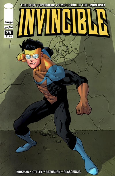Cover for Invincible (Image, 2003 series) #75 [Regular Cover]