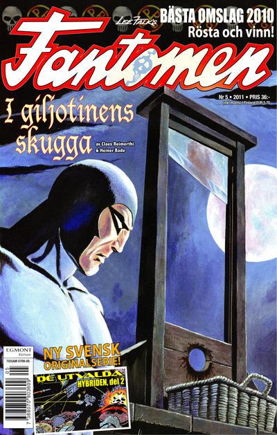 Cover for Fantomen (Egmont, 1997 series) #5/2011