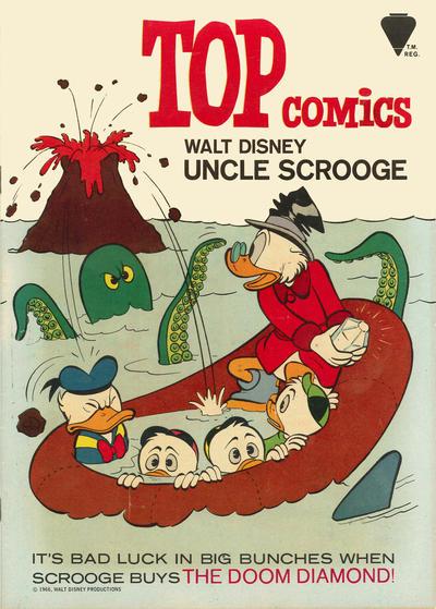 Cover for Top Comics Walt Disney Uncle Scrooge (Western, 1967 series) #1