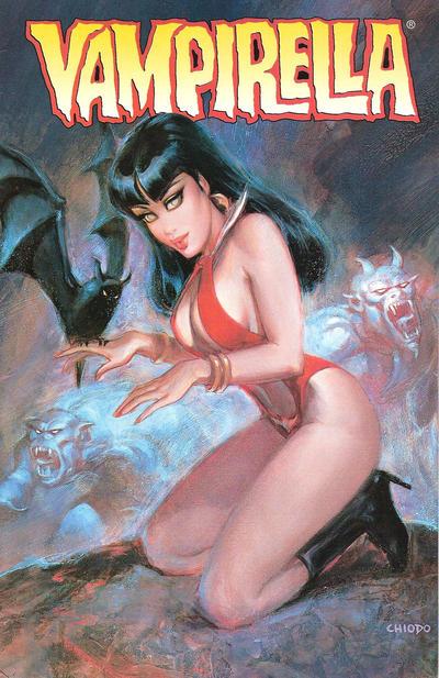 Cover for Vampirella (Harris Comics, 2001 series) #2 [Joe Chiodo Cover]