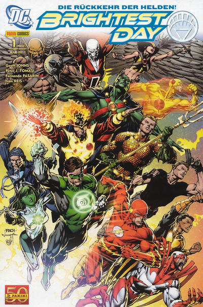 Cover for Brightest Day (Panini Deutschland, 2011 series) #1