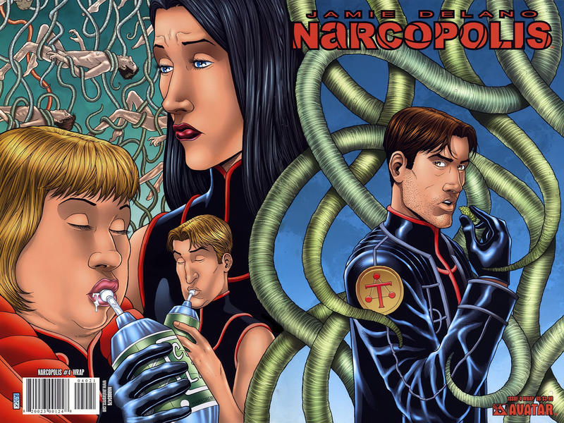 Cover for Jamie Delano's Narcopolis (Avatar Press, 2008 series) #4